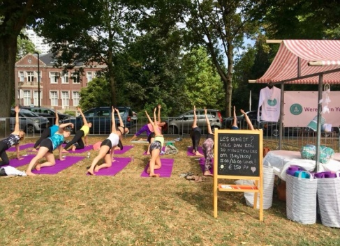 Worshop Yoga - Swan Market 2018