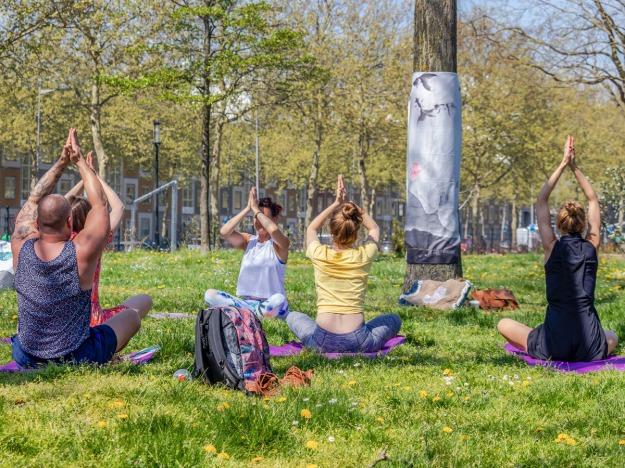 Buitenyoga - Yoga in de Kas