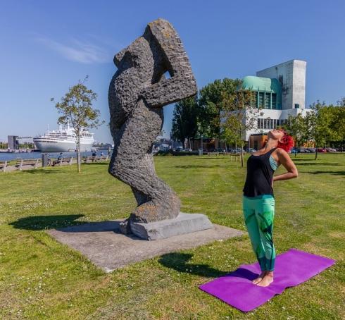 Taste of Yoga - Buitenyoga Rotterdam