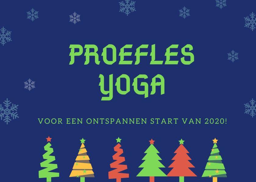 Yoga cadeau - Kerst